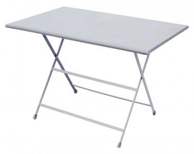 Table pliable rectangulaire - Aluminium - Jardinerie Villaverde