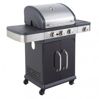 Barbecue gaz Américain FIDGI 3 (3B+SIDE) Jardinerie Villaverde
