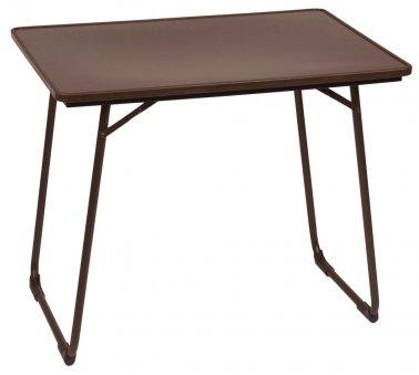 Table pliante, plateau stratifié 80 x 57 cm - Jardinerie ...