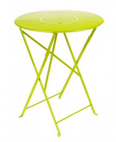 Floréal table pliante diamètre 60 cm - Jardinerie Villaverde